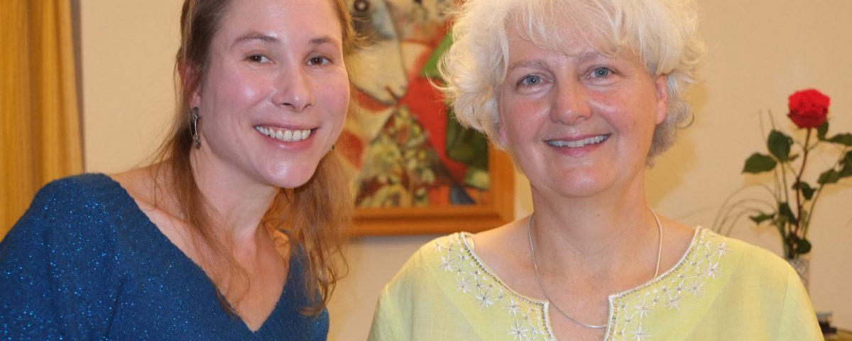 Lisa Nolan soprano and Stephanie Hoernes piano